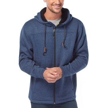 Free Country Men's Mountain Fleece Full Zip Hoodie Jacket