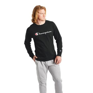 Champion Mens Graphic Long Sleeve Tee
