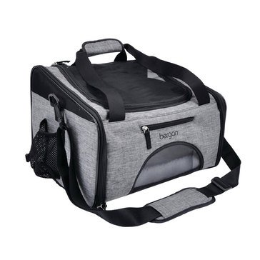 Bergan Booster Carrier Heather Grey