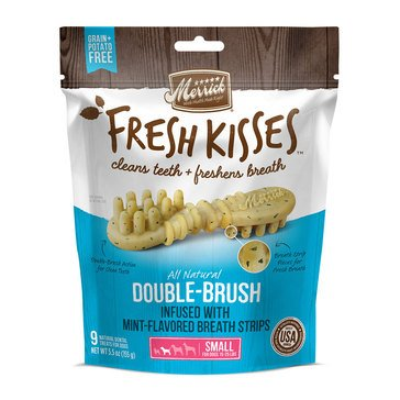 Merrick Fresh Kisses Mint 9-Count Small Breath Strips