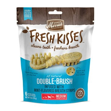 Merrick Fresh Kisses Mint 6-Count Medium Breath Strips