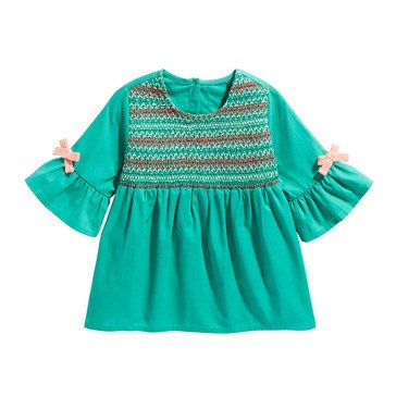 First Impressions Baby Girls' Smocked Tee