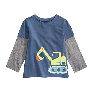 First Impressions Baby Boys' Bulldozer Tee