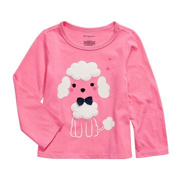 First Impressions Baby Girls' Poodle Tee