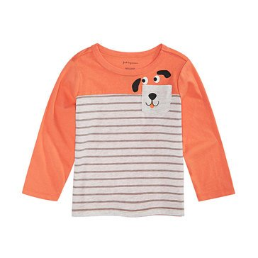 First Impressions Baby Boys' Dog Pocket Tee