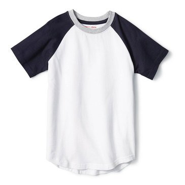 French Toast Baby Boys' Colorblock Raglan Tee