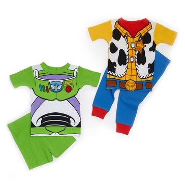 Disney Baby Boys' 4-Piece Sleepwear Set