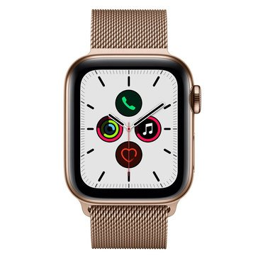 Apple Watch Series 5 (GPS & Cellular) Stainless Steel With Milanese Loop And AppleCare + Bundle