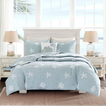 Harbor House Seaside 4-Piece Quilt Set