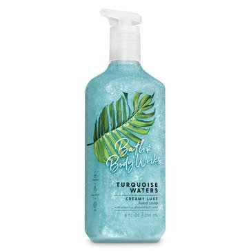 Bath & Body Works Turquoise Waters Creamy Luxe Hand Soap