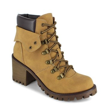 Unionbay Women's Hike Speed Lace Lug Bottom Boot