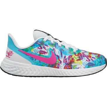 Nike Big Girls' Revolution 5 Fable Running Shoe