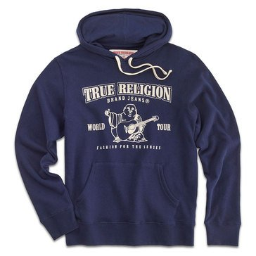 True Religion Men's CWP Fleece Hoodie
