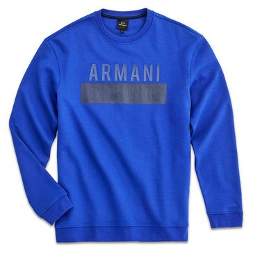 Armani Exchange Men's Fleece Crew