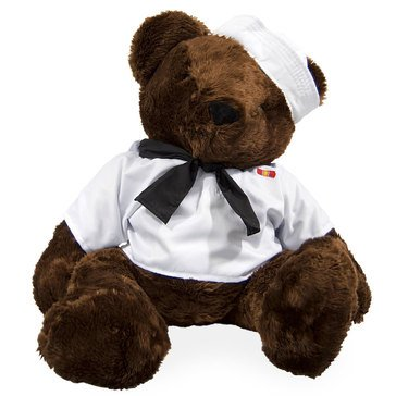 Bear Forces of America Jumbo USN Chocolate Bear