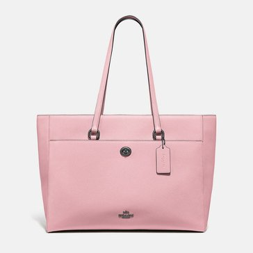 Coach Crossgrain Leather Folio Tote