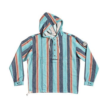 Quiksilver Men's Neo Inka Pullover Striped Baja Jacket
