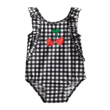 First Impressions Baby Girls' Swim Gingham One Piece