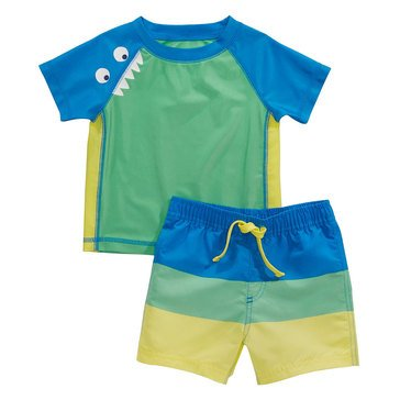 First Impressions Baby Boys' Swim Monster Swim Set