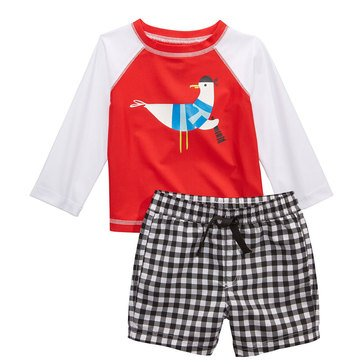 First Impressions Baby Boys' Swim Seagull Swim Set