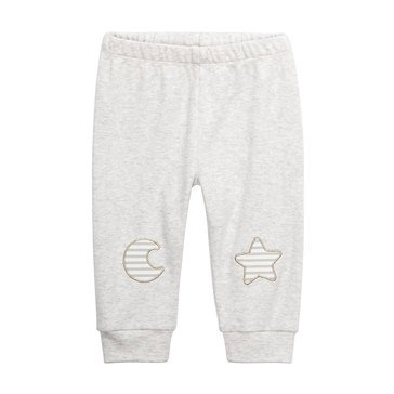 First Impressions Baby Unisex Moon & Star Jogger Pants