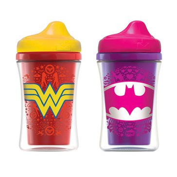 NUK® Justice League Insulated Hard Spout Sippy Cup, 9 oz., 2-Pack