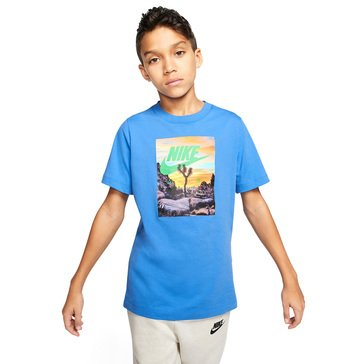 Nike Boys Short Sleeve Tee Nike Air Photo