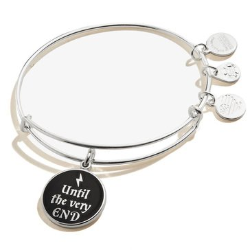 Alex and Ani Harry Potter Until the Very End Bangle, Silver Finish