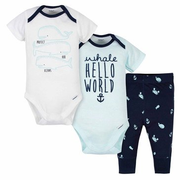 Gerber Little Girls' Take Me Home 3-Piece Set