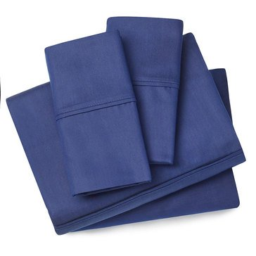 Harbor Home Charcoal Infused Sheet Set - Navy