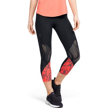 Under Armour Womens Rush Vent Iridescent Graphic Crop