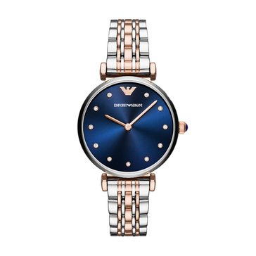 Emporio Armani Two-Tone Stainless Steel Dress Watch, 32mm