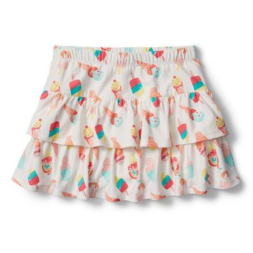 Liberty & Valor Little Girls' Ice Cream Skort
