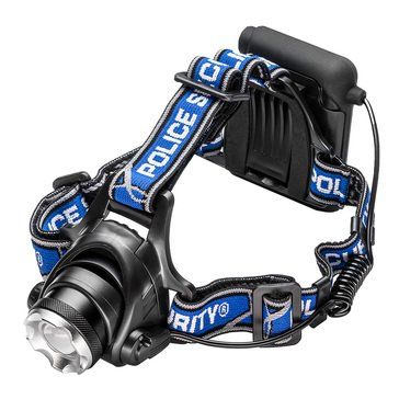Police Security Blackout Headlamp