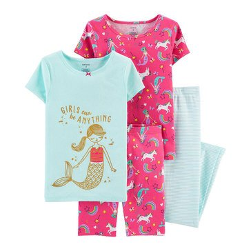Carters Little Girls' Uni-Mermaid Sleep Set