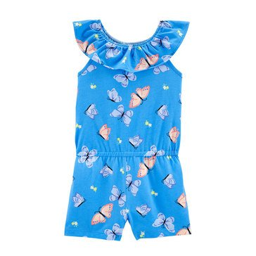 Carters Little SL Butterfly Print Romper