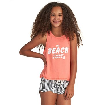 Billabong Big Girls' Beach Idea Swing Tank