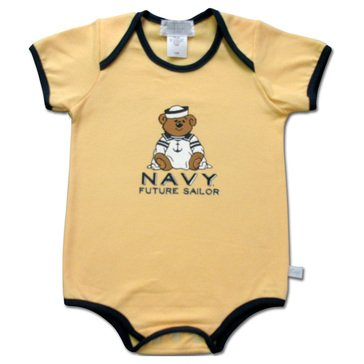 Third Street Infant Boys' USN Future Sailor Bear Romper