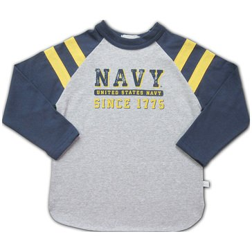 Third Street Youth Boys' USN Raglan Rugby Since 1775 Tee