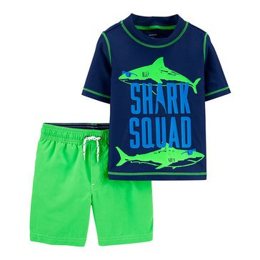 Carter's Baby Boys' Sea Life 2-Piece Swim Set
