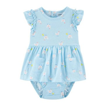 Carters Baby Girls' Chicken Sunsuit