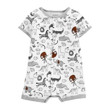 Carters Baby Boys' Safaris Snap Up Rompers