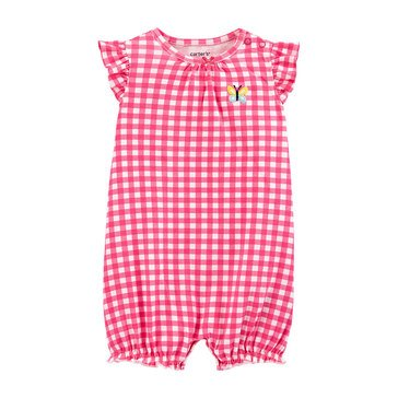 Carters Baby Girls' Frog Snap Up Rompers