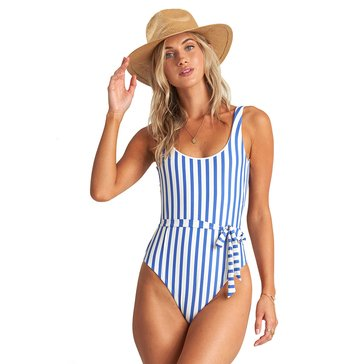 Billabong Women's Blue BY U 1 Piece Swimsuit