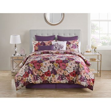 Harbor Home 10-Piece Blooms Comforter Set