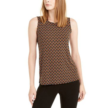 Alfani Women's Geo Printed Sleeveless Tank