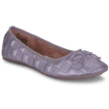 Wanted Women's Marcy Quilted Ballet Flat