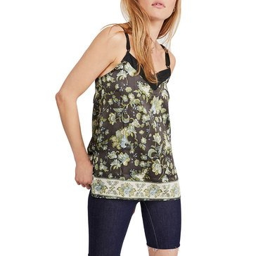 Free People Women's Solstice Floral Woven Cami