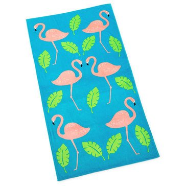 Martha Stewart Collection Flamingo Beach Towel