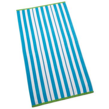 Martha Stewart Collection Cabana Stripe Beach Towel